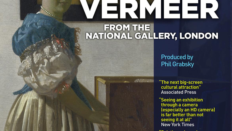 תערוכות על המסך: ורמיר מהנשיונל גלרי לונדון – באולם